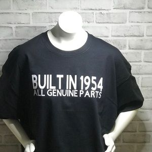 Built in **** Birthday shirts